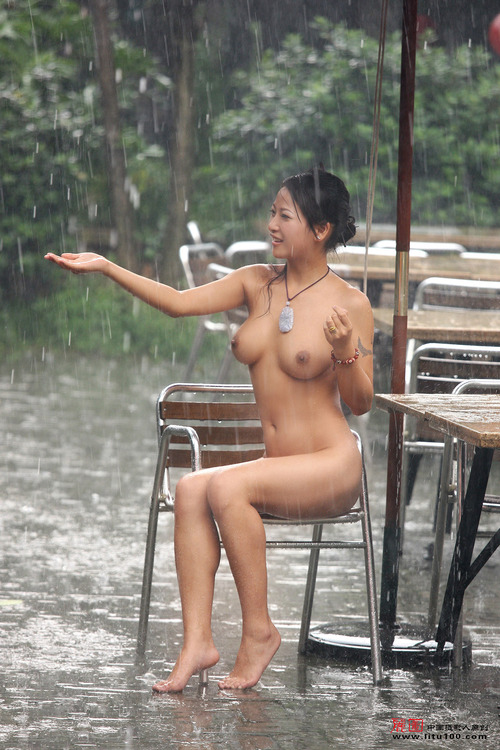 asian big tits brunette nude wet