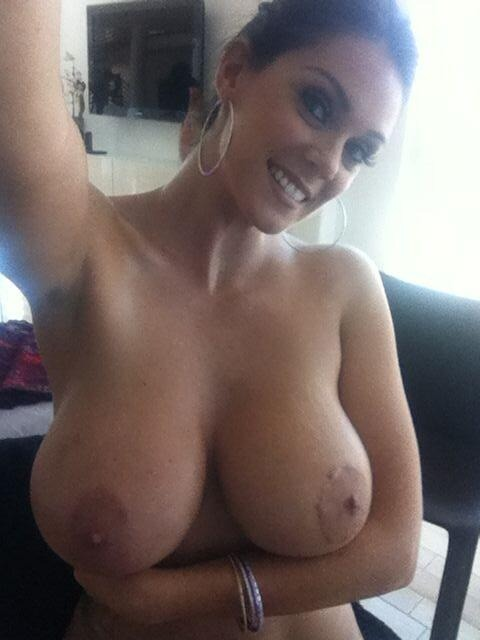 big boobs selfie
