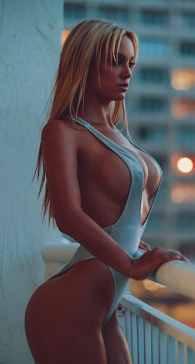 big tits blond erotic sfw